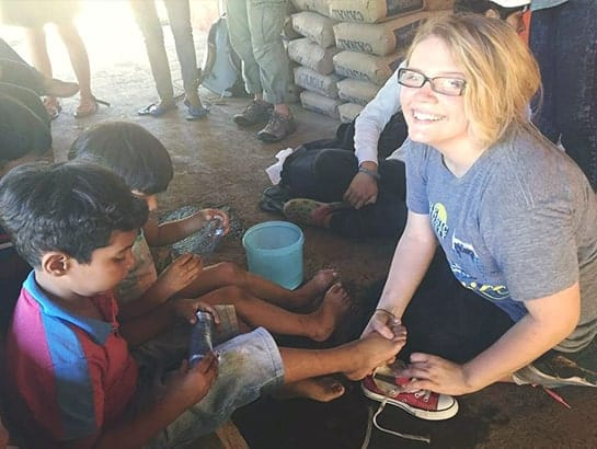 Olivia Wright in Nicaragua