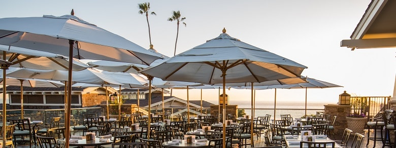 Mosaic Bar & Grill Patio at Montage Laguna Beach