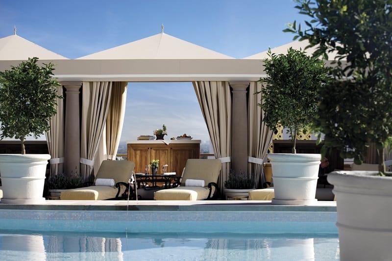 Rooftop Pool & Cabanas
